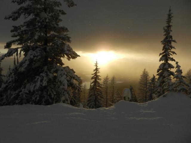 Another Big Mountain Sunset