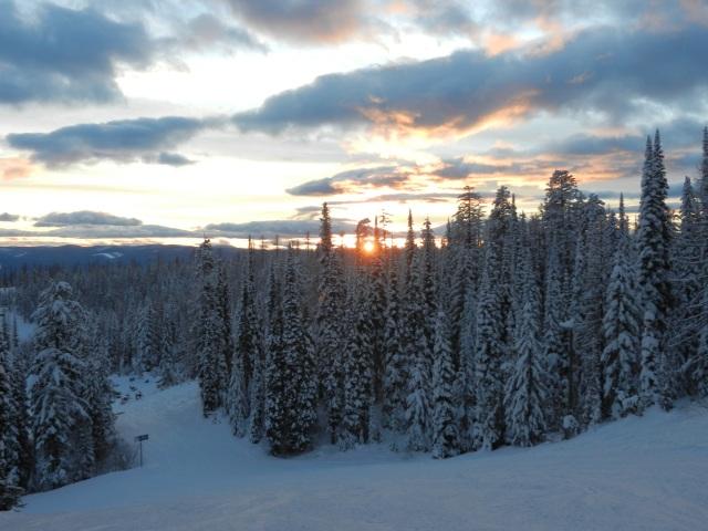 Big Mountain Sunset